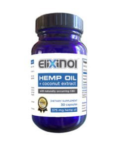 CBD Dietary Supplement with coconut